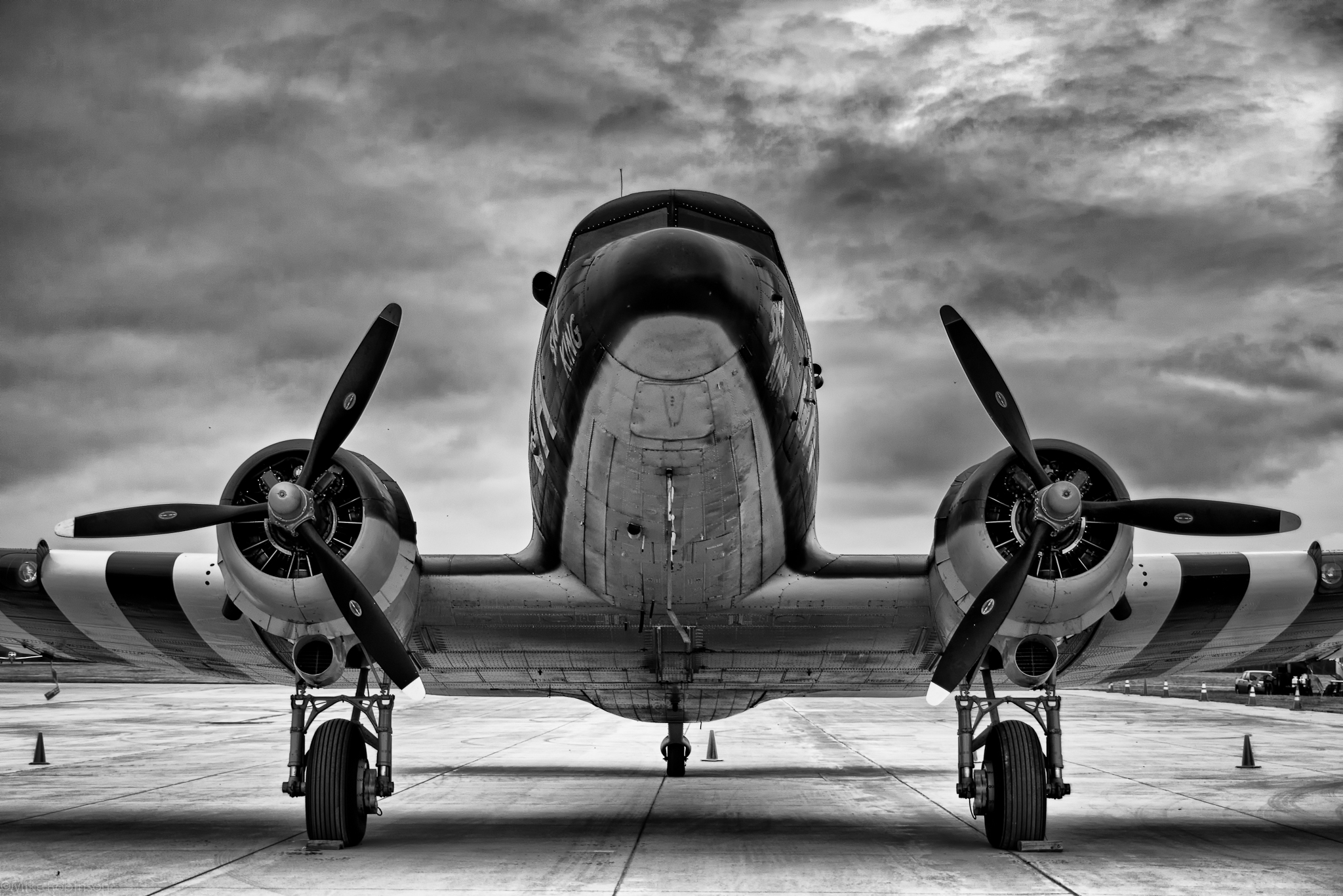 Black and white planes