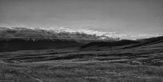 Montana_Daybreak_BW
