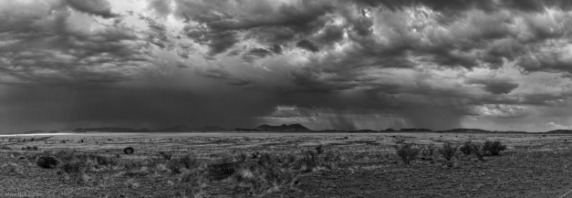 Pano_Ft_Davis_Summer_Rain_BW