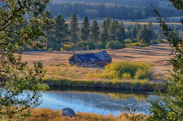 Montana_Abandoned_River_Cabin_HDR