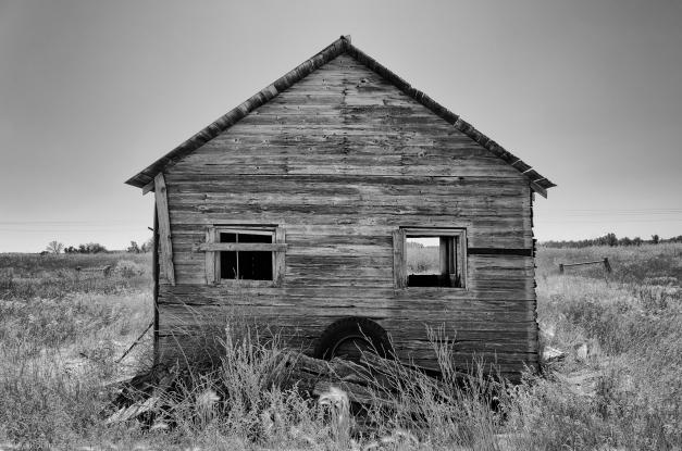 Montana_Field_Cabin_BW