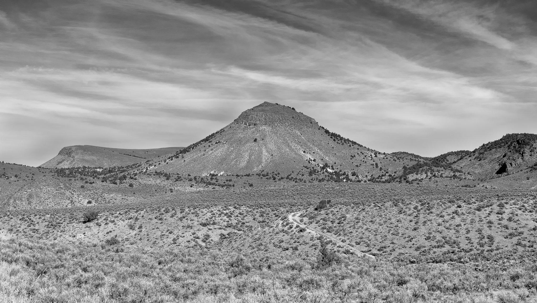 Nevada_Badlands_BW