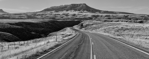 Road_to_Square_Butte_BW