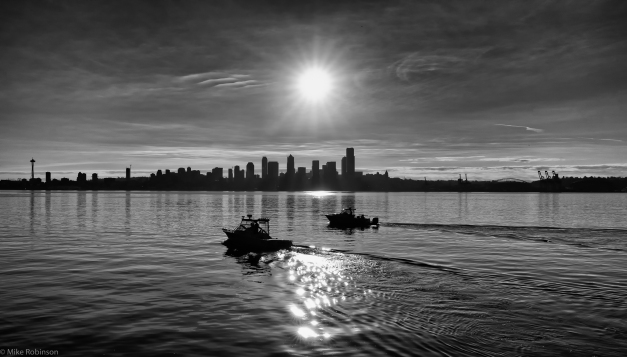 Seattle_Morning_Skyline_2_BW