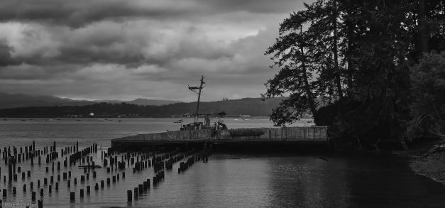Astoria_Wreck_Piers_BW