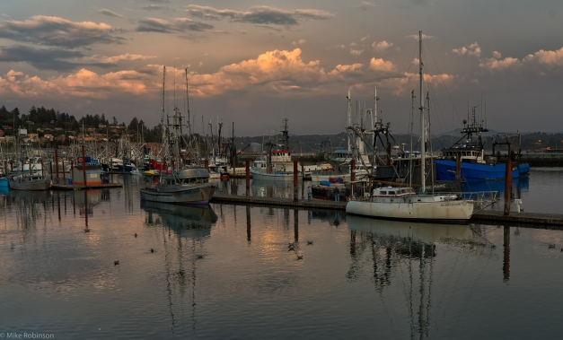 Newport_Harbor_Evening