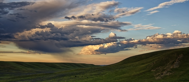 Montana_Summer_Evening_Clouds