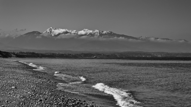 Dungeness_Spit_South_View_BW