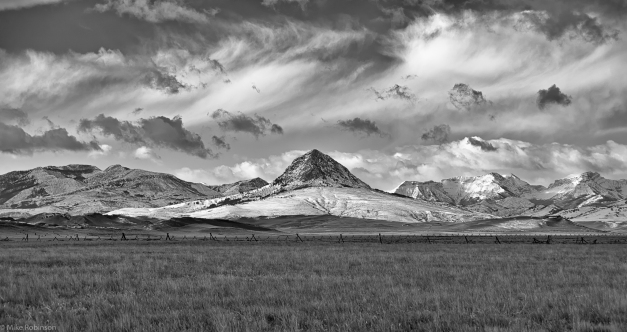 Fields_Mountains_Sky_BW