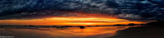 Pano_Seal_Rock_Beach_Sunset_6