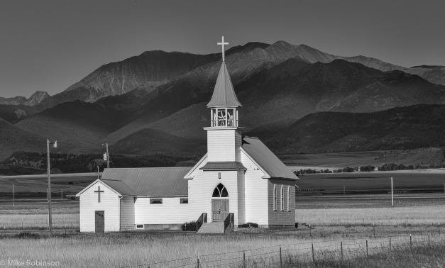 Melville_Lutheran_Church_BW