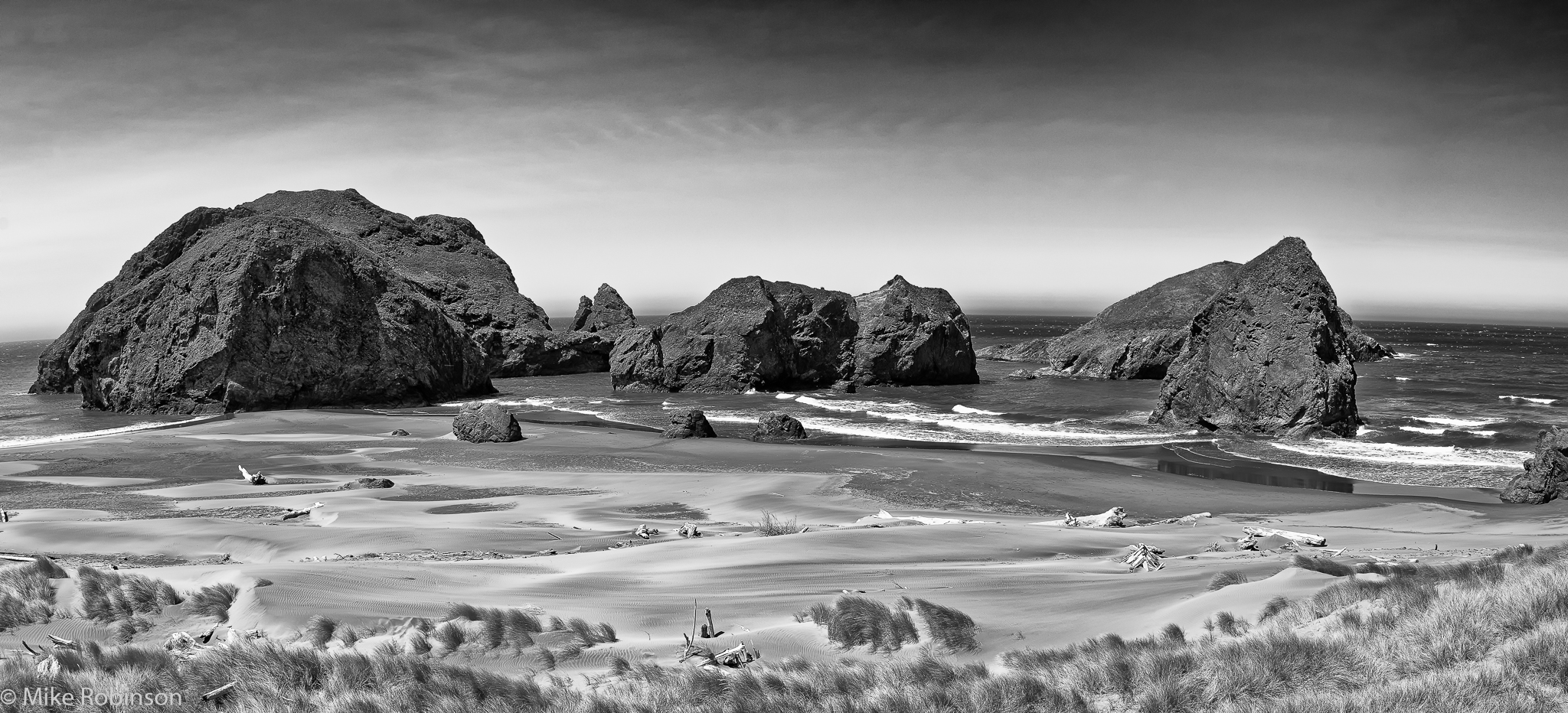 Oregon_Coast_Rocks_BW