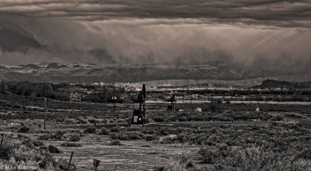 Wyoming_Oil_Field_Snow_BW