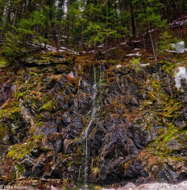 Snowmelt Waterfall