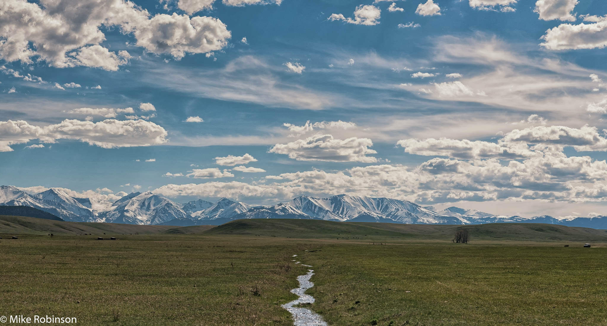 Crazy Mountains Spring Afternoon