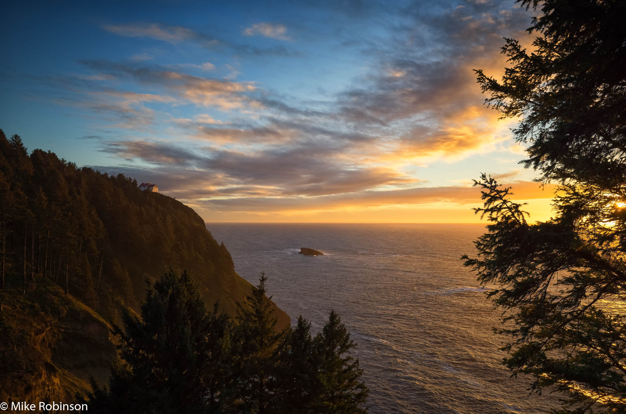 Oregon Coast Evening - North of Newport.jpg