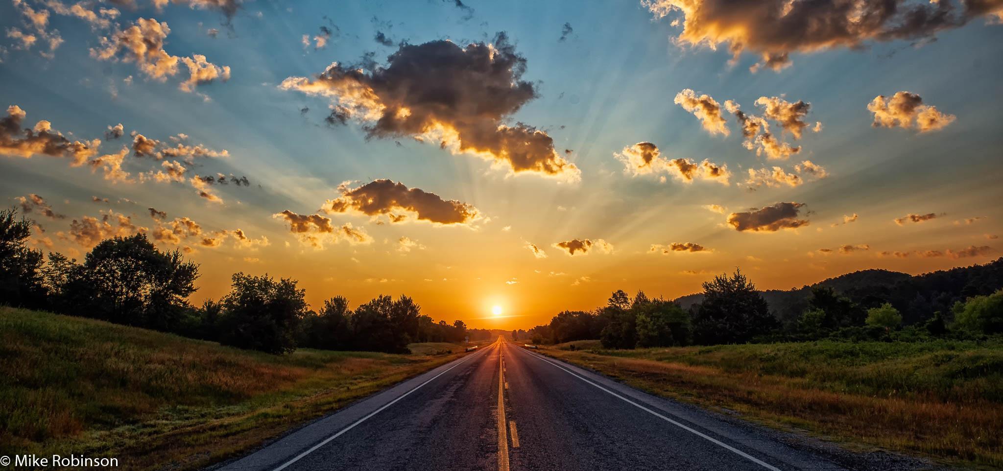 Oklahoma Morning Road 2.jpg