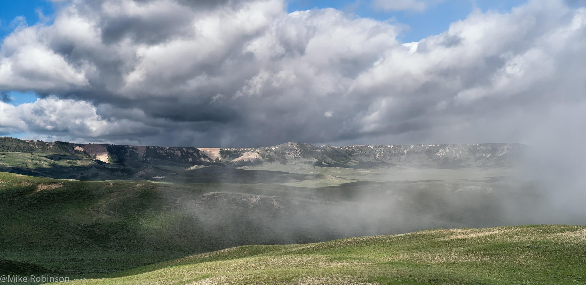 Chalk Mountain Misty Morning